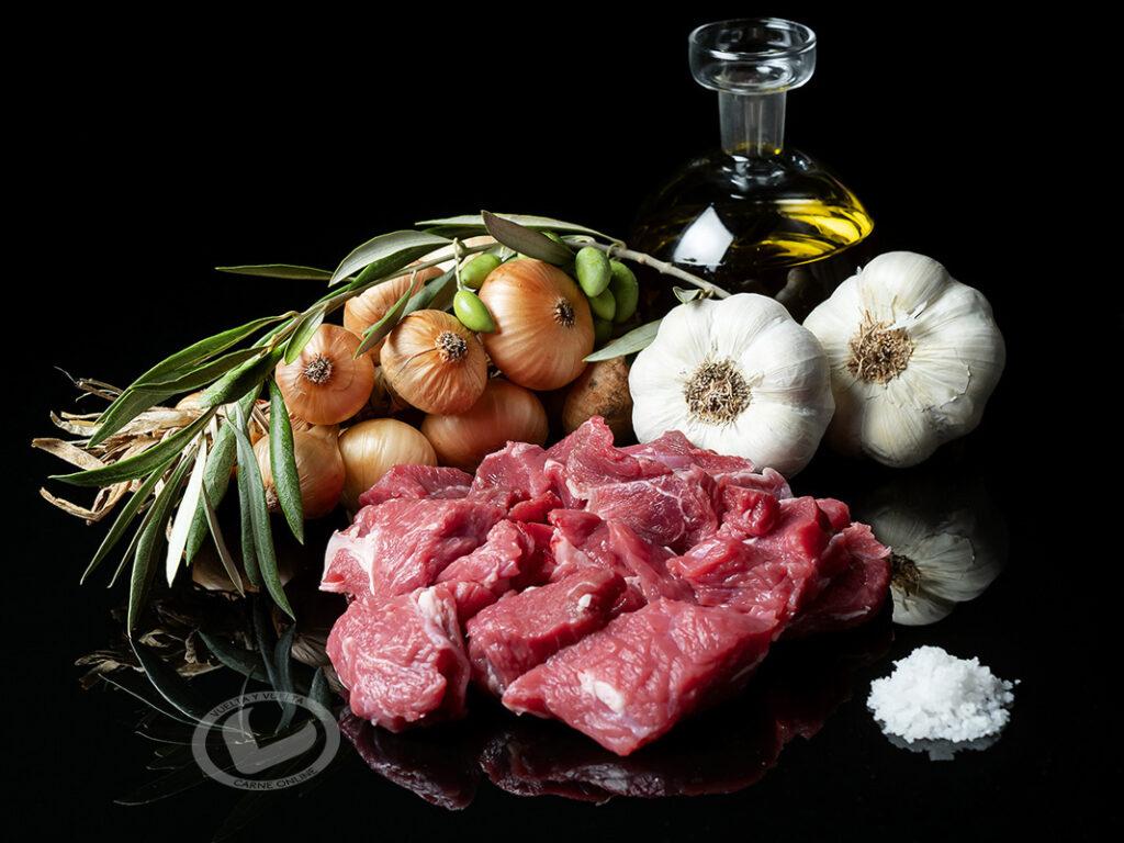 carne para ragout Vuelta y Vuelta